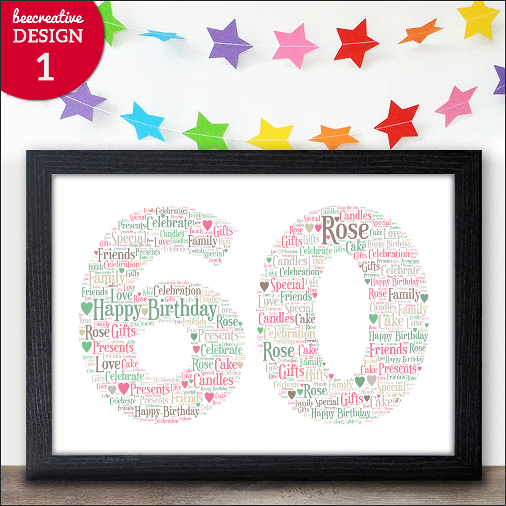 Details About Personalised 60th Birthday Gifts For Men
