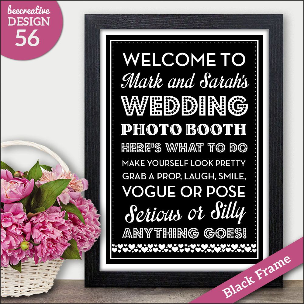 Personalised wedding order of service order of day signs chalkboard frequently asked questions solutioingenieria Image collections